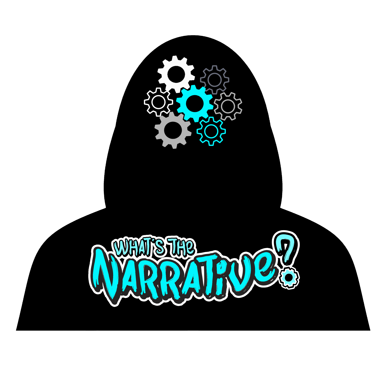 narrative hoodie-black